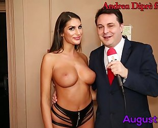 August ames gives a fellatio lesson for andrea diprè