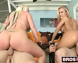 Big arse blondes with blue eyes feat. nicole aniston & angel vain