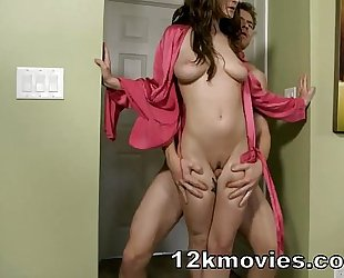 Molly jane in mama tugjob and thighjob