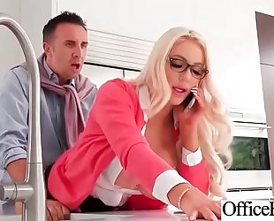 Hardcore team fuck with office nasty breasty amateur wife (nicolette shea) video-22
