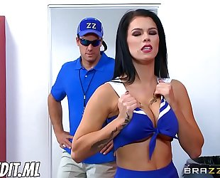 Peta jensen one soaked cheerleader