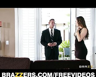 Young BBC slut dani daniels bonks her husband's business partner