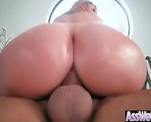 Anal unfathomable sex with large round wazoo lustful white wife (brooklyn chase) video-13