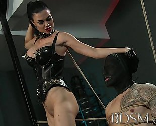 Bdsm xxx serf guy acquires fastened up and acquires greater quantity than that guy bargained