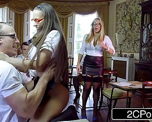 Classroom student sex - mea melone