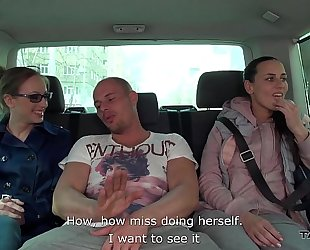 Takevan youthful secretary takes ride with mea melone and receive drilled hard