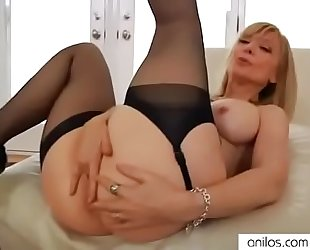 Youporn - nina-hartley-spanks-her-pussy