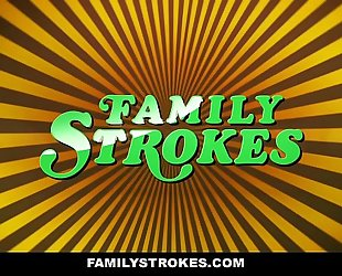 Familystrokes - curvy step daughter revenge bonks step daddy on fathers day