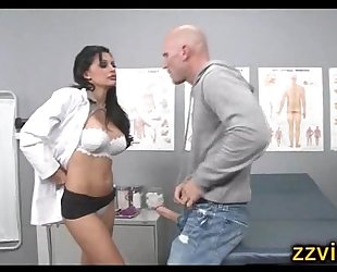 Busty nurse aletta ocean screwed hard
