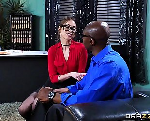 Brazzers.com - riely reid sucks some large dark weenie
